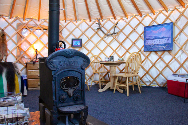 Just Short of Magic Yurt Stay Bed and Breakfast Fairbanks